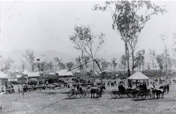 First Atherton Show 1904 - right hand view of the showgrounds